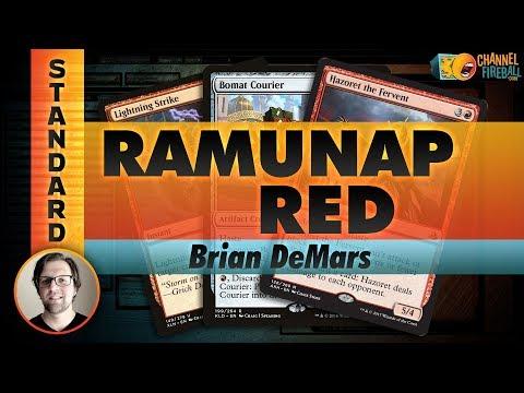 Channel DeMars - Standard Ramunap Red (Deck Tech & Matches)