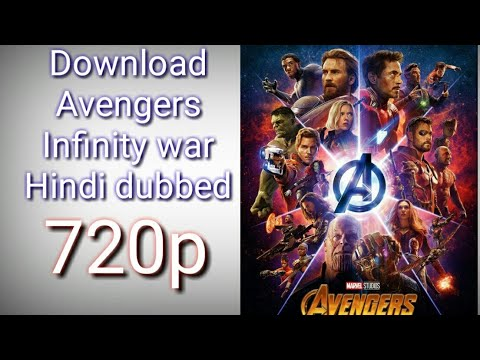 Download Avengers infinity war Hindi dubbed 720p
