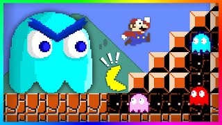 💥Pac-Man Vs. Mario Bros.🍄Battle Mayhem!!【Mario Cartoon Animation】