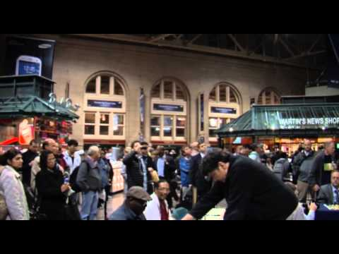 Larry Christiansen, Chess Grandmaster at South Station