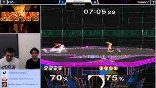 JJs 13 - Emanon (Peach) vs Ciz (Marth) Winners Round 3