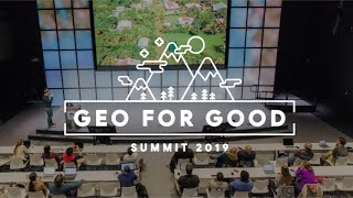 Geo For Good 2019: Director Rebecca Moore On Google Earth Suite and Matt Hancher On Earth Engine