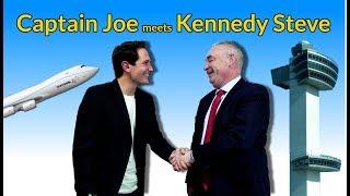 CAPTAIN JOE meets KENNEDY STEVE - The interview!