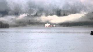 Santa Ricarda Ship Horn In The Fog: 3-9-14