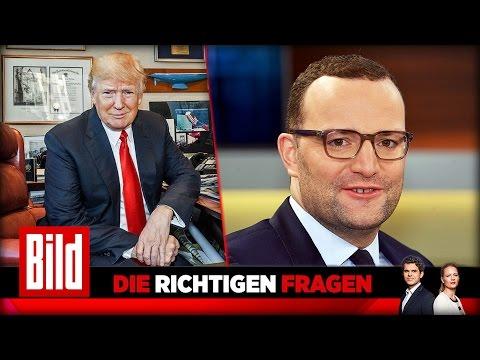 Donald Trump hat ein falsches Bild von der EU - CDU Präsidiumsmitglied Jens Spahn