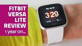 Fitbit Versa Lite fitness tracker - Review after one year of use