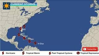 Hurricane Elsa Update