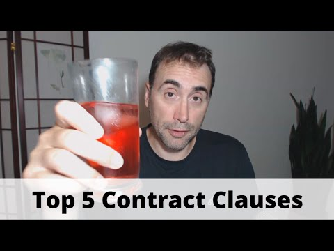 Top 5 Developer Contract Clauses