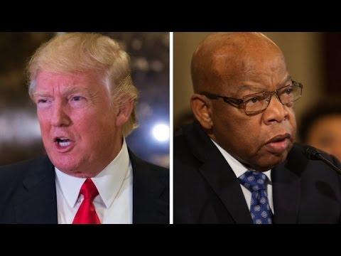 Trump fires back at Rep. John Lewis