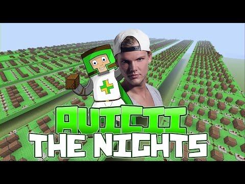 Avicii - The Nights Minecraft Xbox One Noteblock Song