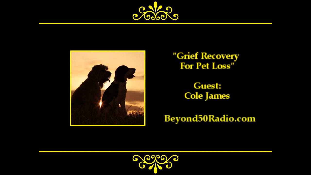 Grief Recovery for Pet Loss