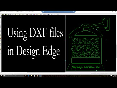 Design Edge - Working with DXF Files