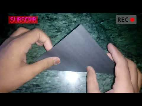 How to make paper Raven