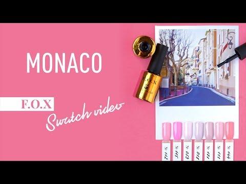 F.O.X Travel Monaco. Обзор розовой палитры гель-лаков.