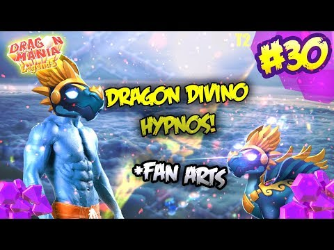 DRAGON HYPNOS, FAN ARTS DEL GRUPO Y...UNA DISCULPA u.u | Dragon Mania Legends T2 #30