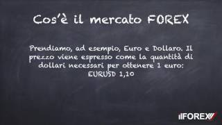 Cos'è il forex :: ilforextrading.IT
