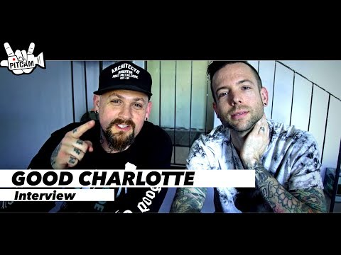 GOOD CHARLOTTE - Interview at Huxley, Berlin Germany | www.pitcam.tv