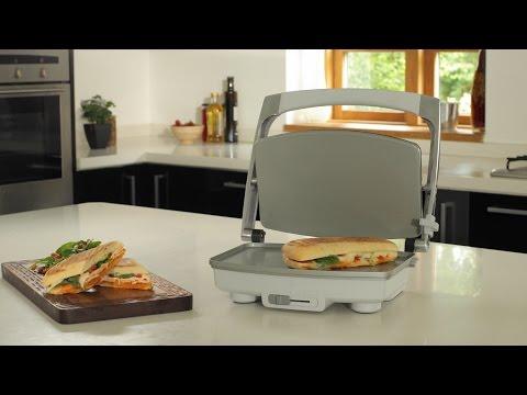 Breville 3 Slice DuraCeramic™ Sandwich Press, VST071