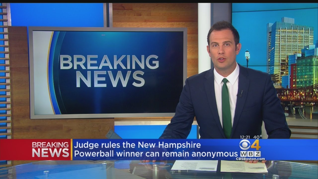 New Hampshire Powerball Winner Can Stay Anonymous, Judge Rules