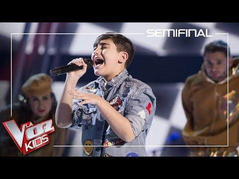 Marcos Díaz canta 'Chandelier' | Semifinal | La Voz kids Antena 3 2019