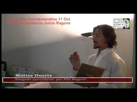 2012 10 15 19 Matías Duarte Un año Sentencia Ragone