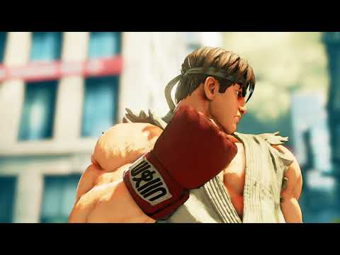 Street Fighter V Arcade Edition - Ryu Full Arcade Mode (Street Fighter 1)