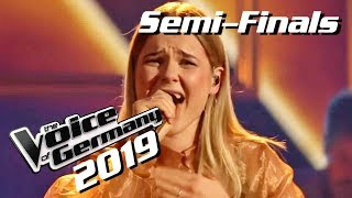 Söhne Mannheims - Und wenn ein Lied (Celine Abeling) | The Voice of Germany 2019 | Semi-Finals