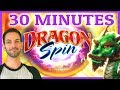 ⏰🎰30 MINUTES on Dragon Spin 🐲🔥✦ Can we lift this 30 Minute Curse? ✦ Slot Machine w Brian C