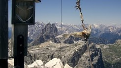 Dolomiten Sextener Rotwand / Dolomiti Croda Rossa di Sesto / Alpin