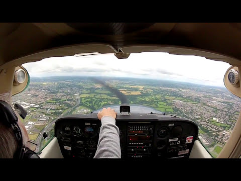 Aerial tour of Dublin from Weston Airport (EIWT)