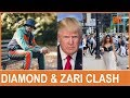Diamond Platnumz And Zari Clash In Trump's Country !!!!