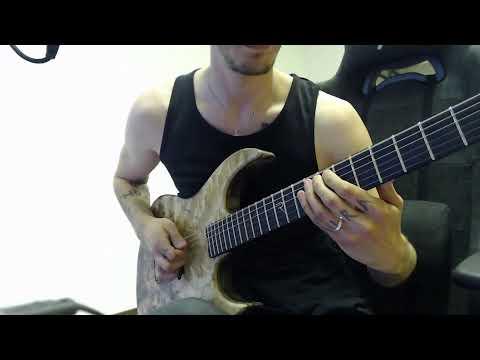 Metal rhythm guitar technique