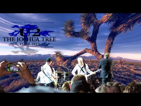 "U2 ""The Joshua Tree Tour"" 2017 Live @ NRG Stadium Houston TX 5_24_17"