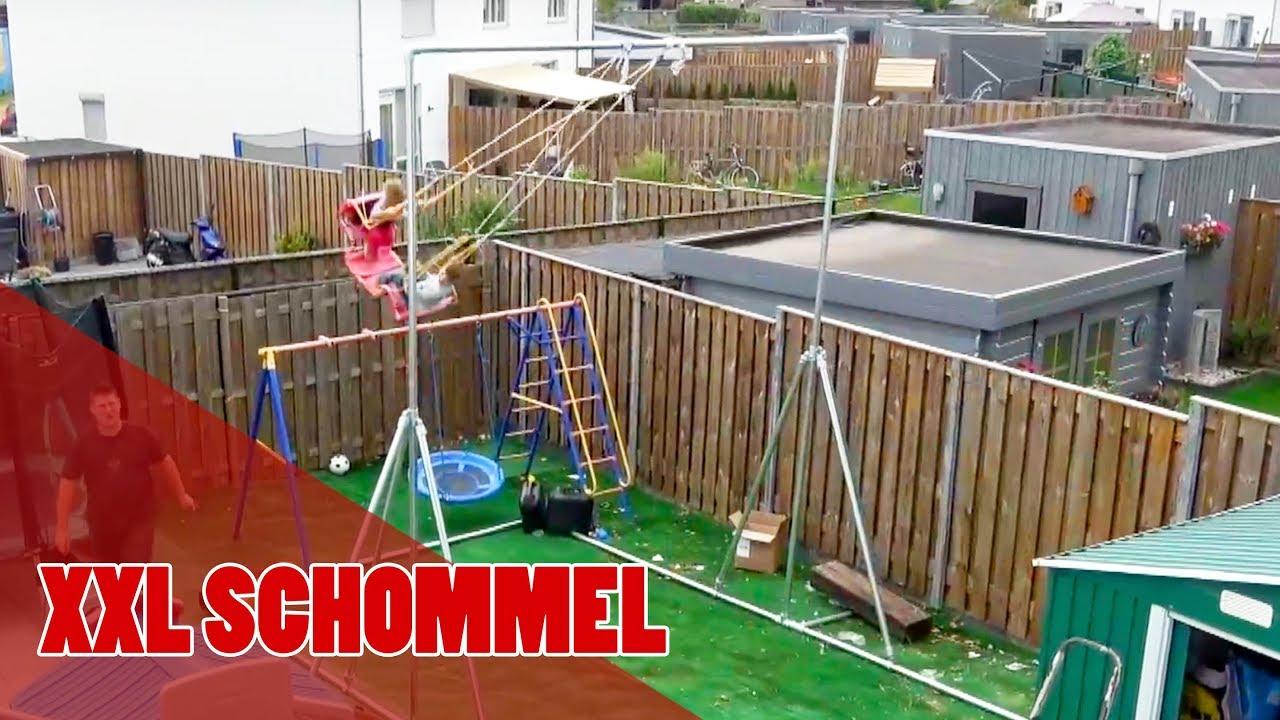 Schommel Voor Tuin : Homemade xxl schommel in de tuin youtube