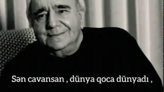 Ramiz Rövşən şeir -  dünyadi  , İnstagram üçün şeir videosu , Whatsapp ucun video