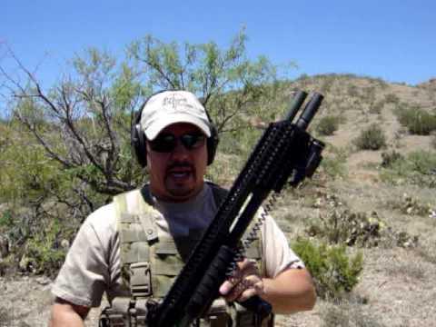 Remington 870 Tactical Magnum Shotgun with Full Rail System