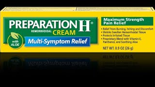 Preparation H and Belly Fat