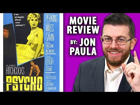Psycho (Alfred Hitchcock) --- Movie Review #JPMN
