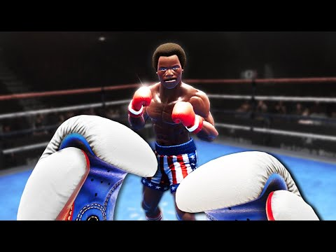 An Idiot Fights Apollo Creed In VR