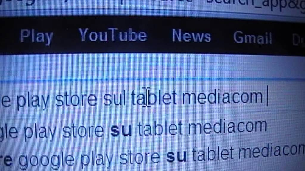 play store pour tablette mediacom