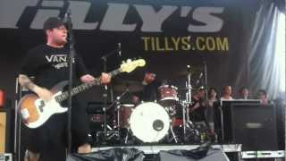 "Senses Fail - ""Rum is for Drinking, Not for Burning"" LIVE at Vans Warped Tour 2012"