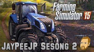 Farming Simulator 2015 - S2E24 - Ny traktor med mer...