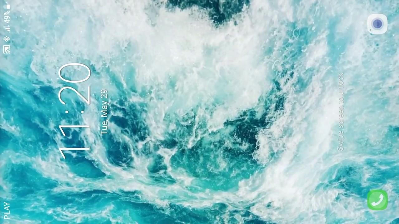 Ocean Waves Hd Live Wallpaper Youtube