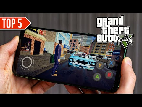 🔥TOP 5 🤩 GAMES LIKE GTA 5 ON ANDROID 2020 HD🔥