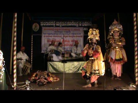 Yakshagana | Narasimha Chittani as Kaurava: Kapata Nataka Ranga