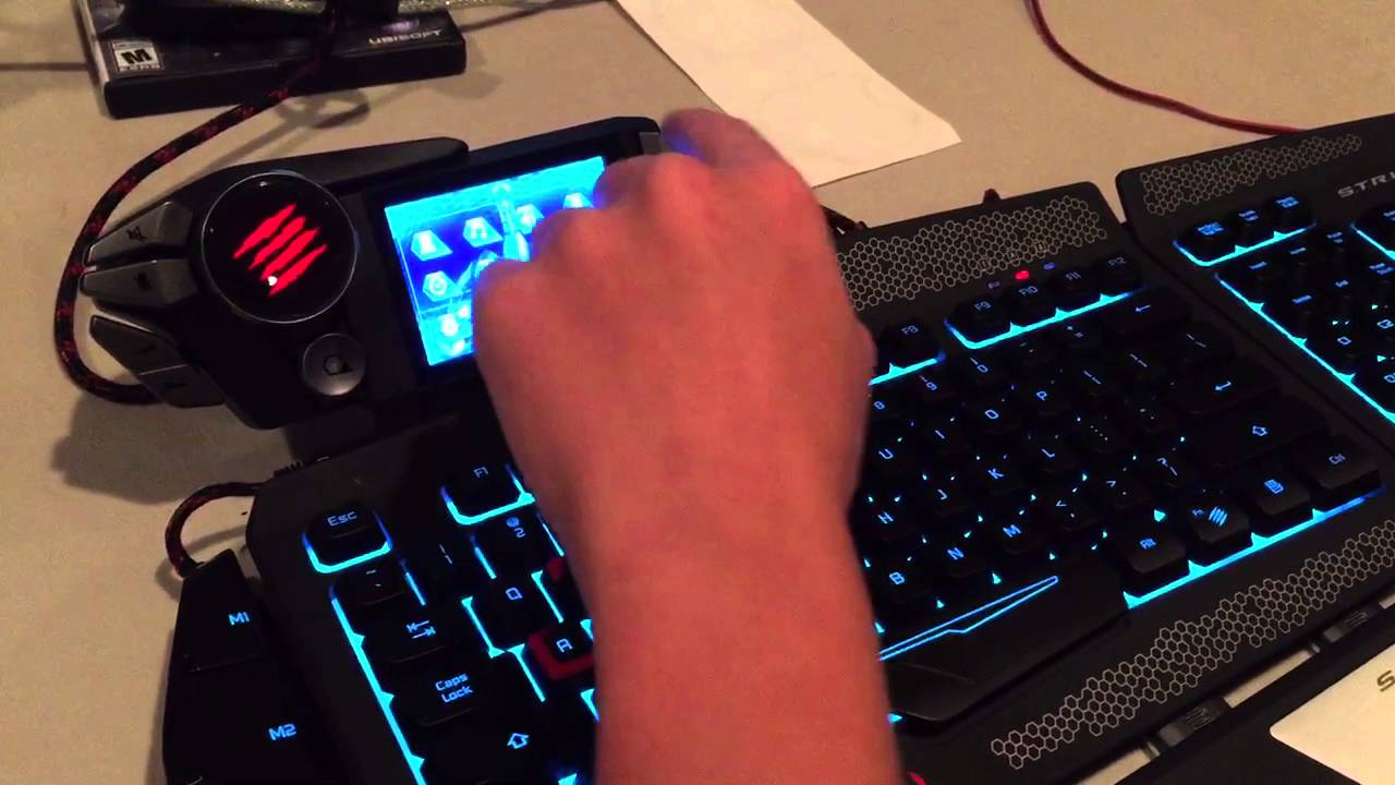 afc8197ac2b Mad Catz STRIKE 7 Gaming Keyboard Review and Demo with Derp24x7 ...