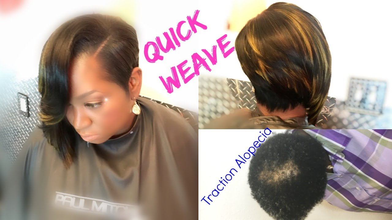 Quick Weaves 💖 Don\u0027t go BALD from quick weave DETAILES! Must SEE💖