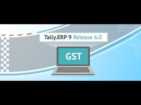 GST in Tally ERP 9 Release 6   YouTube GST in Tally ERP 9 Release 6
