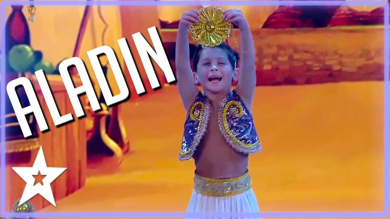 ALADDIN WOWS Everyone on Got Talent Uruguay 2021 | Kids Got Talent
