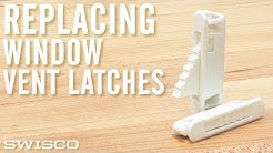 How to Replace a Window Vent latch